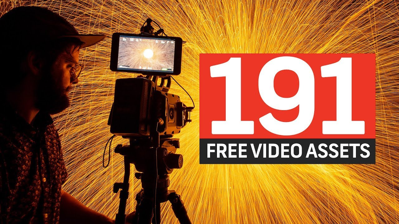 Free Week: 191 Free Effects and Assets for Your Next Video