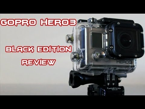 gopro hero 3 black edition review unboxing and test. Black Bedroom Furniture Sets. Home Design Ideas