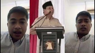 Pemuda asli Boyolali bersedia jadi budak Prabowo, bila diusir di hotel paling mewah di Jakarta