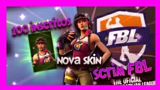 FBI SCRIMS.. NEW SKIN SO EXPECTED AND 100 SUBSCRIBERS... Fortnite/Yuri MS