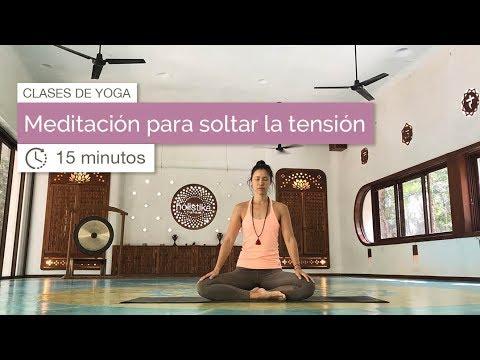 Meditación para soltar la tensión