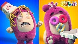 Oddbods | Food Fiasco #6 | Funny Cartoons For Kids | Oddbods Show