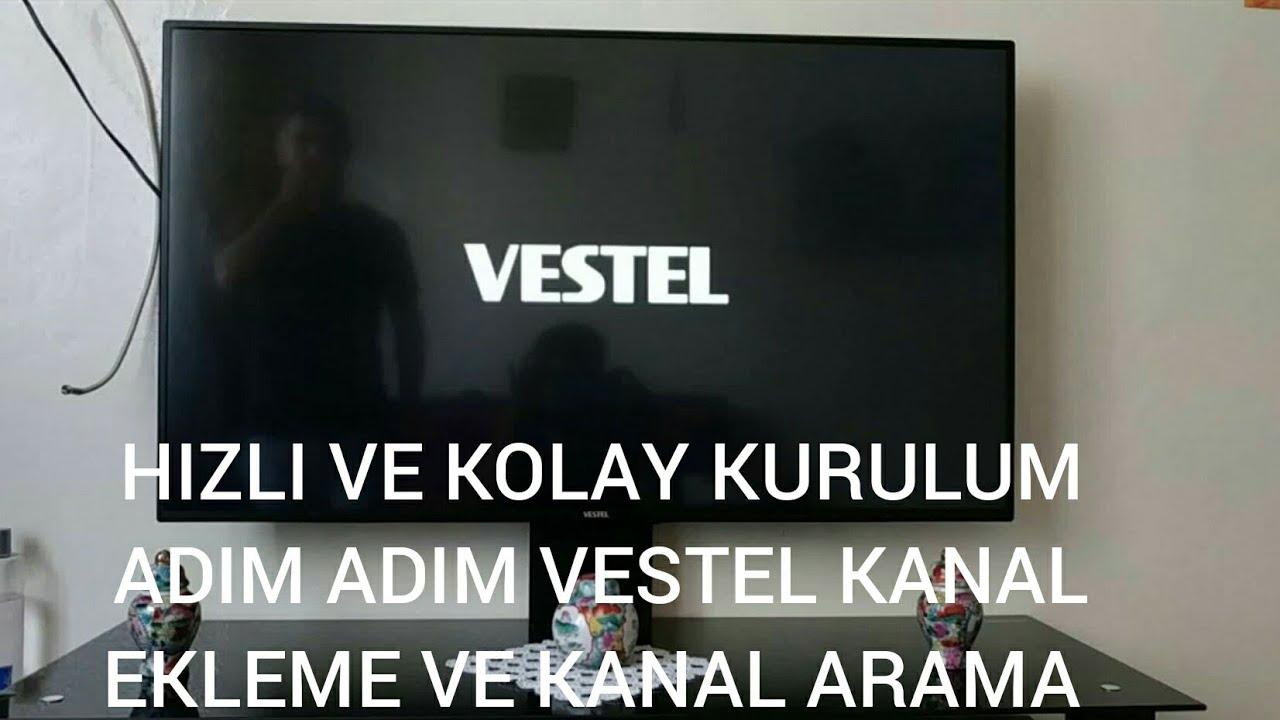 Vestel kanal arama kanal ekleme full kurulum 2019