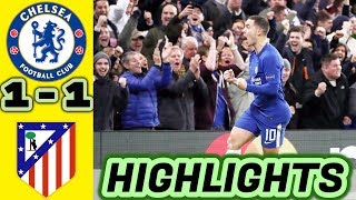 Chelsea vs Atletico Madrid 1-1 All Goals & Highlights HD 05/12/2017