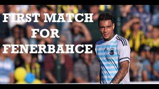 Gregory van der Wiel ● First match for Fenerbahce ● 2016