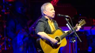 """Hearts and Bones & Mystery Train"" Paul Simon@Giant Center Hershey, PA 3/9/14"
