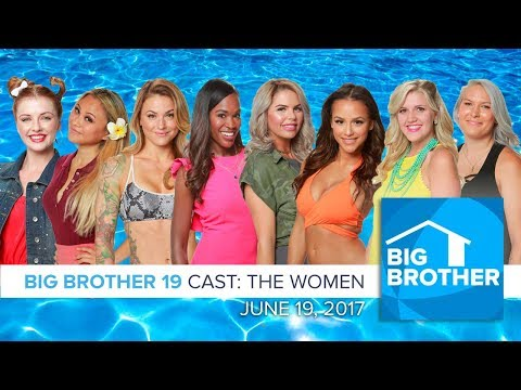 Big Brother  19 | Cast Preview - Women