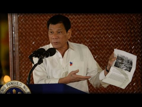 SHOCK: PHILIPPINE PRESIDENT CALLS OBAMA 'SON OF A WHORE' THEN ORDERS US OUT