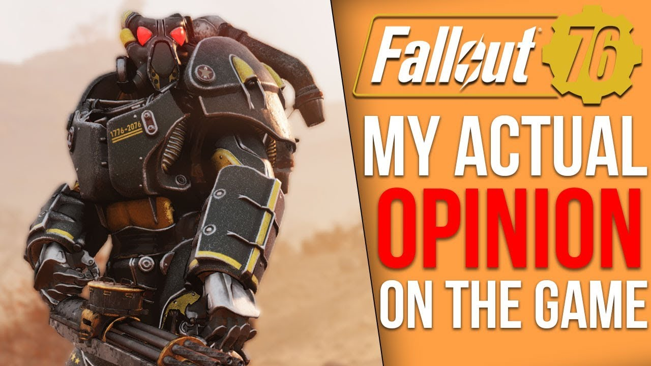 My Actual Thoughts on Fallout 76 thumbnail