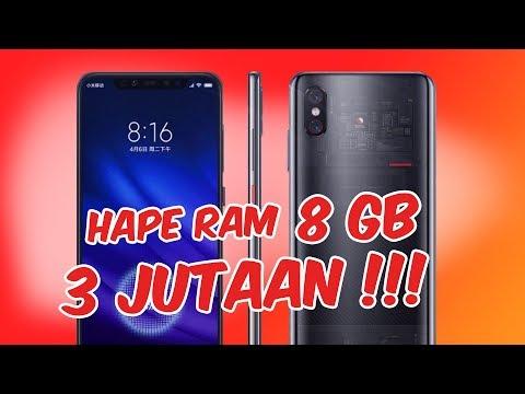 5 Smartphone RAM 8GB Murah Mulai 3 Jutaan Tahun 2019