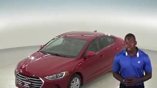 G96825TR - Used, 2017, Hyundai Elantra, SE, Sedan, Red, Test Drive, Review, For Sale -