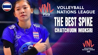 HIGHLIGHT ชัชชุอร โมกศรี (Chatchuon moksri) [ VNL 2018 ] Thailand vs Japan