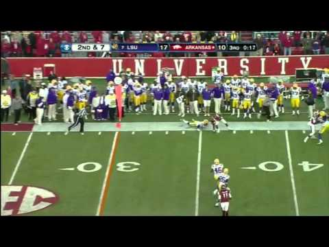 Tyler Wilson vs LSU 2012