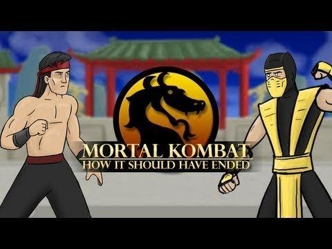 Мортал Комбат - правильное окончание (Таблетка Team)