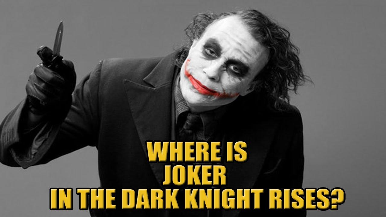 The Dark Knight Rises Joker