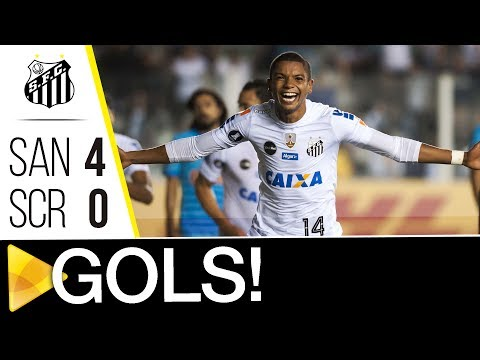 Santos 4 x 0 Sporting Cristal   GOLS   CONMEBOL Libertadores Bridgestone (23/05/17)