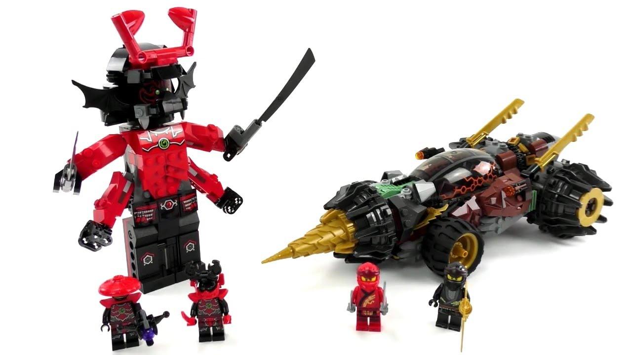 Lego Ninjago Legacy Set 70669 Coles Powerbohrer Unboxing