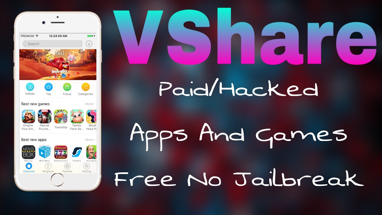 How To Download and Install Vshare For iOS Without Jail Break 1