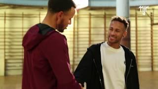 Neymar Jr. & Stephen Curry - Behind the Scenes