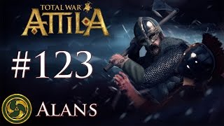 Total War: Attila - Alans - Hunt Them Down Like Dogs!... With Dogs.