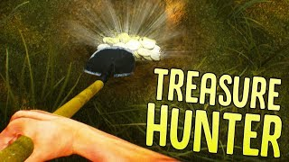 Treasure Hunter - Finding Buried Treasure! - Metal Detecting Simulator - Treasure Hunter Gameplay