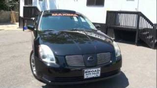 Nissan Maxima (2004) Videos