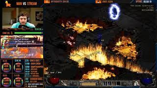 DIABLO 2 - MAN VS STREAM - Barbarian - End me plz [Part 2]