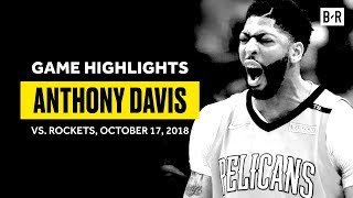 Anthony Davis Showed Out In Season Opener | 32 PTS, 16 REB, 8 AST