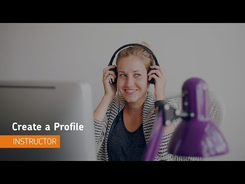Getting Started - Create a Profile - Instructor