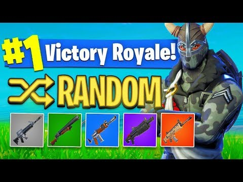 The *RANDOM SKIN* Challenge In Fortnite Battle Royale! (HARD?)