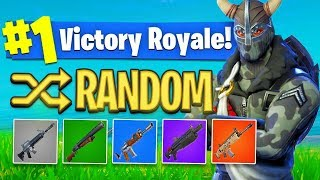 The *RANDOM SKIN* Challenge In Fortnite Battle Royale! (HARD?) | MindOfRez