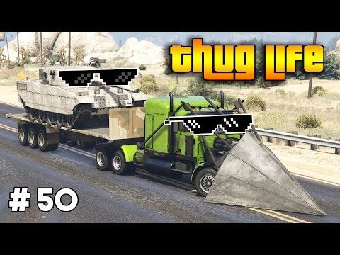 GTA 5 ONLINE : THUG LIFE AND FUNNY MOMENTS (WINS, STUNTS AND FAILS #50)