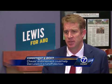 Ricardo Chaves backs of out of race for Albuquerque Mayor and endorses Dan Lewis