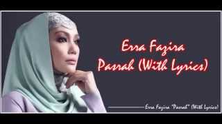 Erra Fazira ' Pasrah ' (With Lyrics) HD