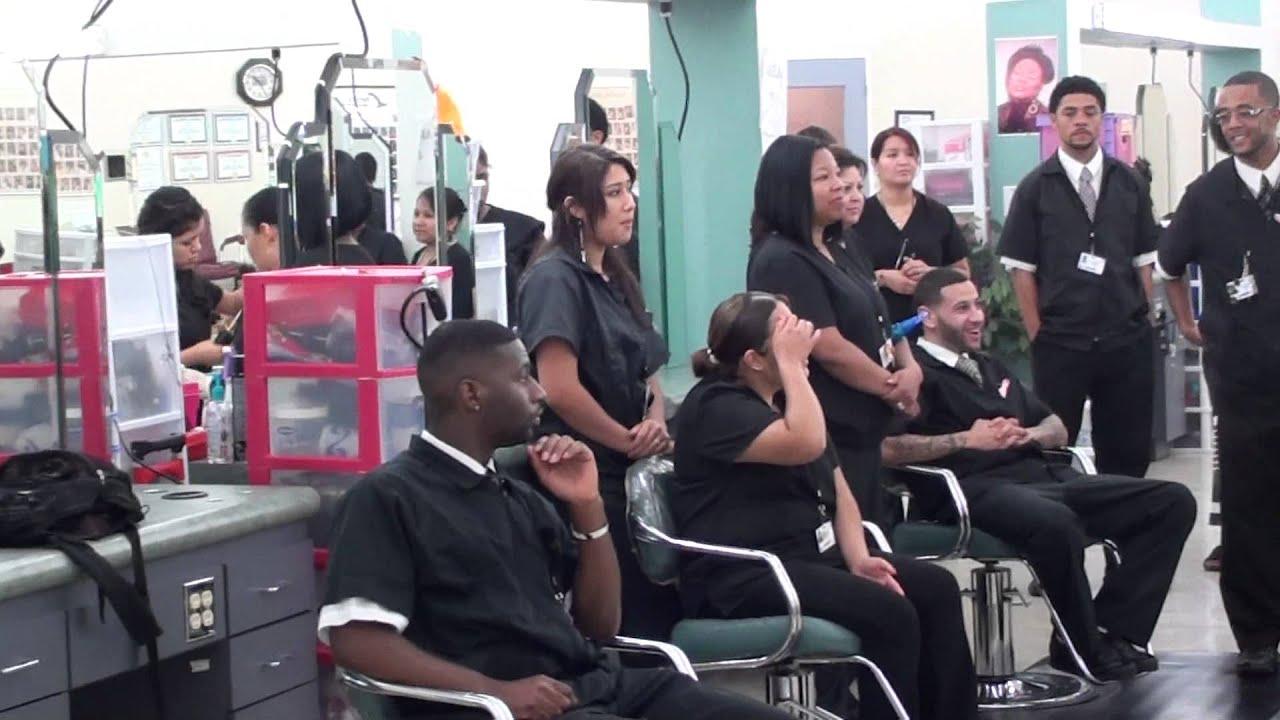 Nini's Cosmetology Graduation Ceremony - YouTube