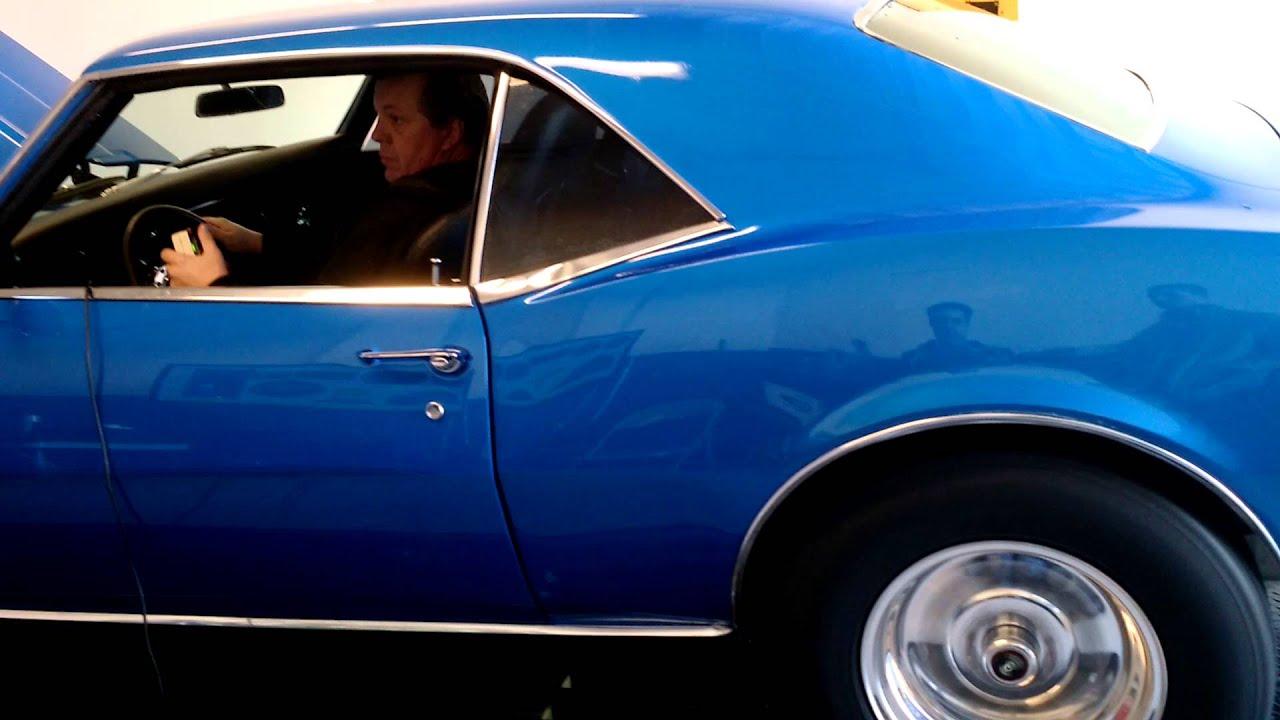 68 Camaro Dyno with Edelbrock RPM Top End