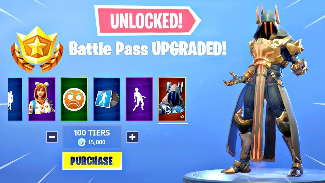 season 7 battle pass all items unlocked fortnite battle royale - fortnite battle pass items