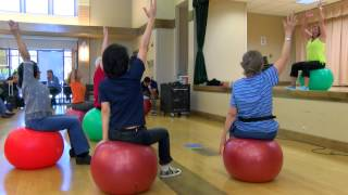 Un-believe-a-ball at the Concord Senior Center in Concord, California