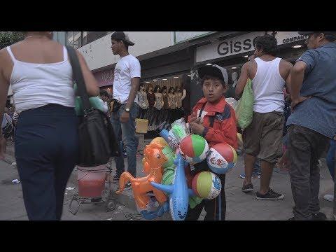 """Informal Economy"" Is A Major Part Of Peru's Labor Market"