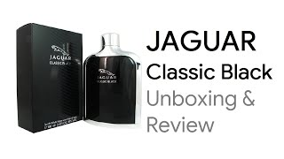 Jaguar Classic Black EDT Perfume (Men) Review