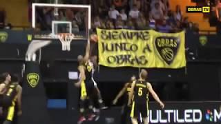 Highlights Obras Basket 86 - 96 Atenas (08-01-18)