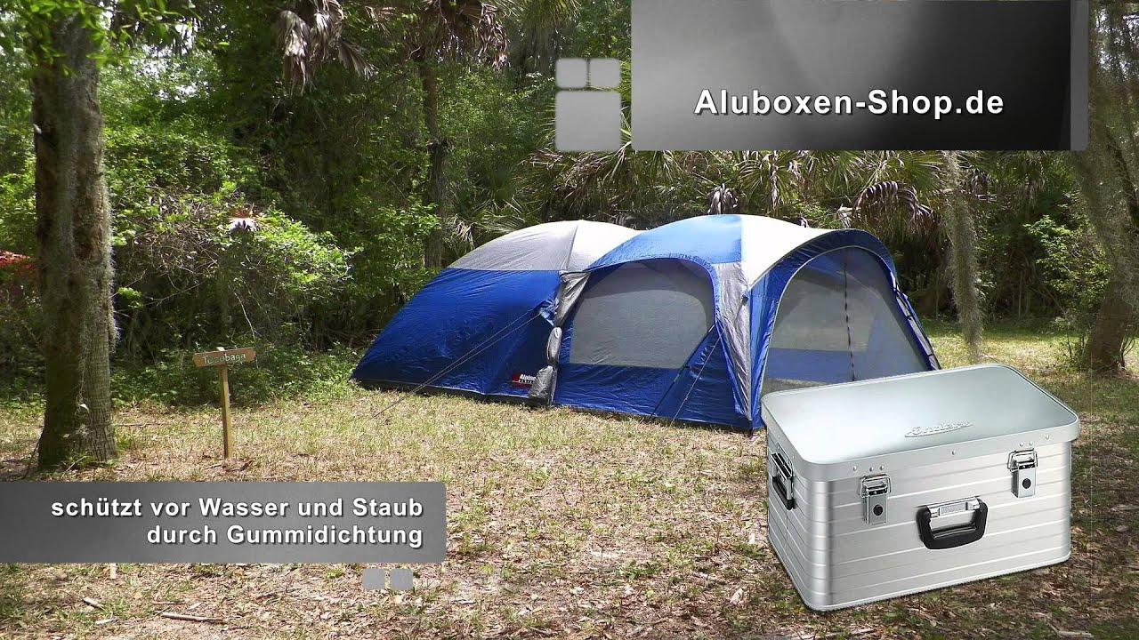 Outdoorküche Camping Xxl : Camping aluboxen youtube
