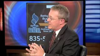 BBB discusses home security system scam