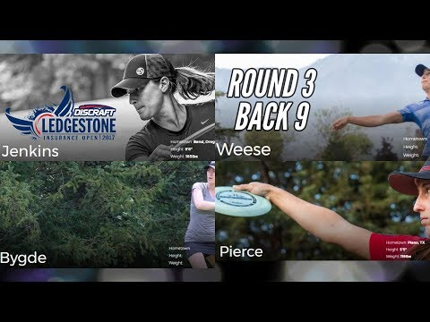 2017 Ledgestone Open: Round 3 Leaders, Back 9 (Jenkins, Weese, Bygde, Pierce)