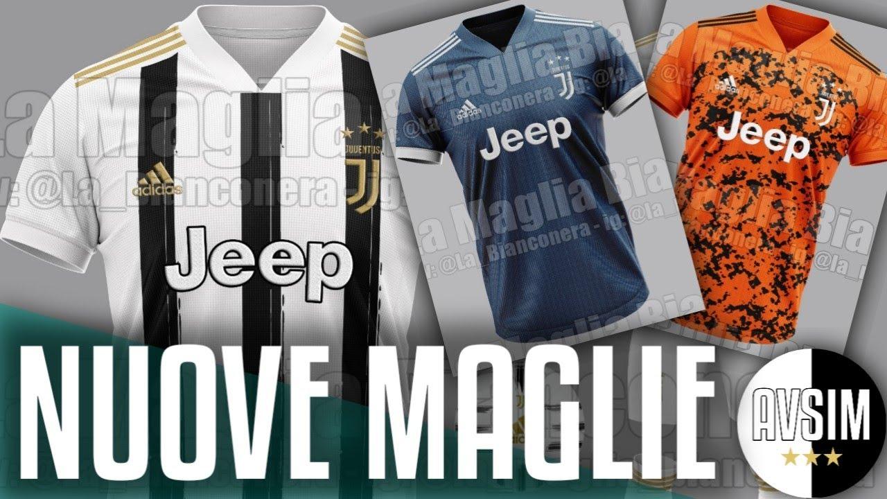 Nuove maglie Juventus 2020/2021: tornano le strisce bianconere ||| Speciale Avsim