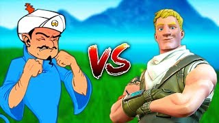 CAN AKINATOR GUESS THE SKINS OF FORTNITE?!