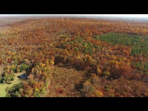 Aerial View of Cane Creek Mountain - Alamance County, NC