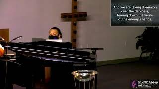 1/10/2021 Sunday Morning Worship at St. John's MCC