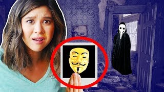 SCAVENGER HUNT reveals MYSTERY PUZZLE CHALLENGE in ABANDONED SAFE HOUSE (riddles in real life)