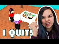 ROBLOX WORK AT A PIZZA PLACE | WE QUIT! | RADIOJH GAMES & DOLLASTIC PLAYS
